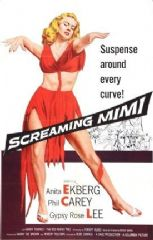 Screaming Mimi 1958 DVD - Anita Ekberg / Philip Carey